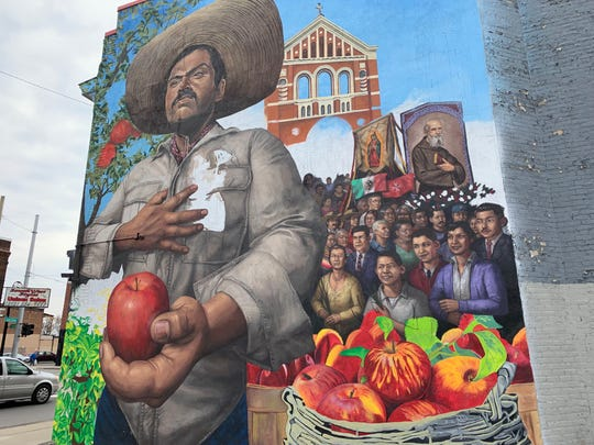 Half the fun of Cinco de Mayo is checking out Mexicantown's great murals.