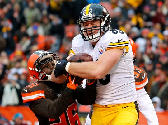 Steelers tight end Heath Miller earned stellar blocking grades throughout his career, while averaging 58 catches for 635 yards and four touchdowns after his first two seasons.