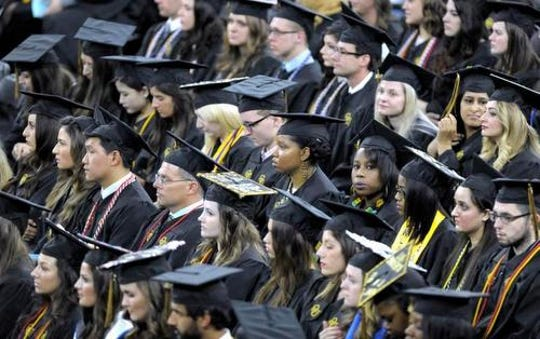 In a recent survey 35% of graduates described themselves as working or lower class, up from just 20% who felt that way in 1983. Only 64% of college grads say they feel they belong to the middle or upper class.
