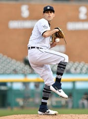 Tigers pitcher Matthew Boyd has racked up 48 strikeouts in 37.1 innings so far this season.