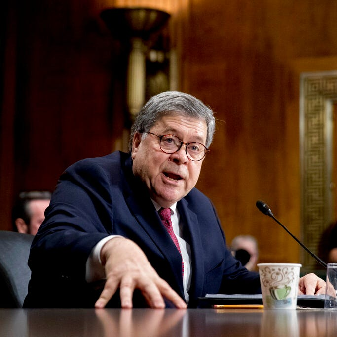 Barr 'not really sure' why Mueller didn't reach obstruction conclusion