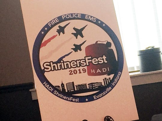 The ShrinersFest 2019 logo.