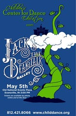 "Children's Center for Dance Education presents ""Jack and the Beanstalk"" Ballet Sunday."