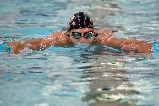 The 5A state swim finals are Friday afternoon at VMAC.