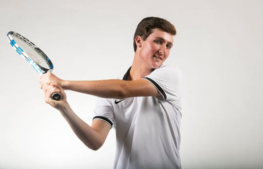 Tyler Carlin, Fort Myers, Tennis, Spring All-Area Athletes