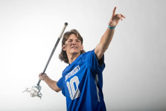 Gavin Knight, Canterbury, Lacrosse, Spring All-Area Athletes