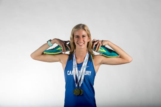 Jessica Edwards, Canterbury, Track & Field, Spring All-Area Athletes