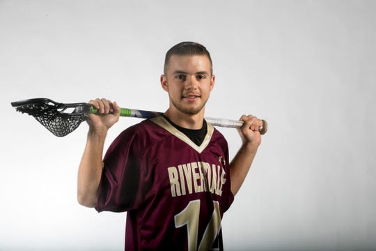 Colton Bunt, Riverdale, Lacrosse, Spring All-Area Athletes