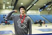Estero weightlifter Ramiro Bello