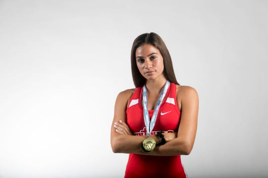 Moriah Oliveira, Evangelical Christian School, Track & Field, Spring All-Area Athletes
