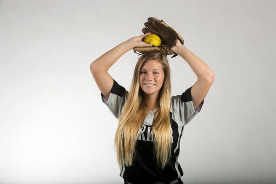 Hannah Holloway, Mariner, Softball, Spring All-Area Athletes