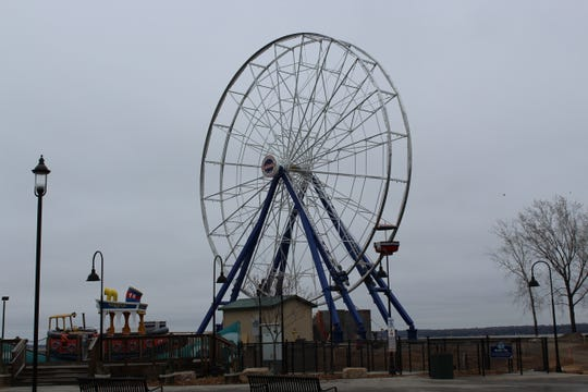 Bay Beach Amusement Park in Green Bay will have a new addition this summer, the Big Wheel, a 100-foot-tall Ferris wheel. The new ride was still be working on May 1, 2019. It will not be ready for the new season, which starts Saturday, but is expected to be ready Memorial Day.