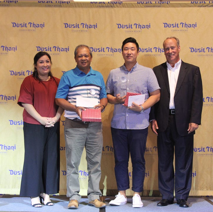 Joo, Orpilla and Rhodes, Emiri take top spots in Dusit Smiles Golf Championship