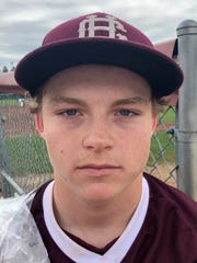 Henderson County sophomore catcher Seth Givens
