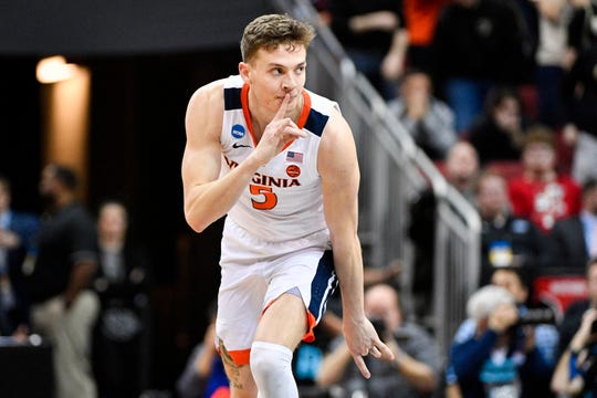 Kyle Guy was the Most Outstanding Player in this year's NCAA tournament.