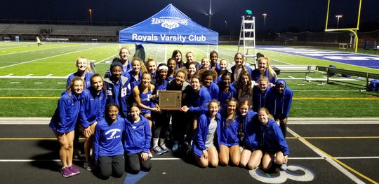 Hamilton Southeastern won the Hoosier Crossroads Conference  girls track and field championship on April 30, 2019