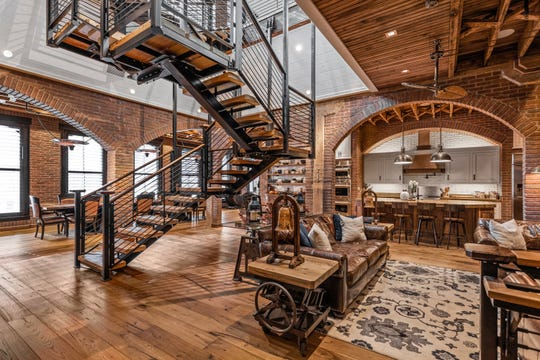 The owners wanted a Colorado feel in the home.