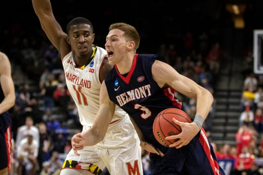 Perry Meridian grad Dylan Windler starred for Belmont.