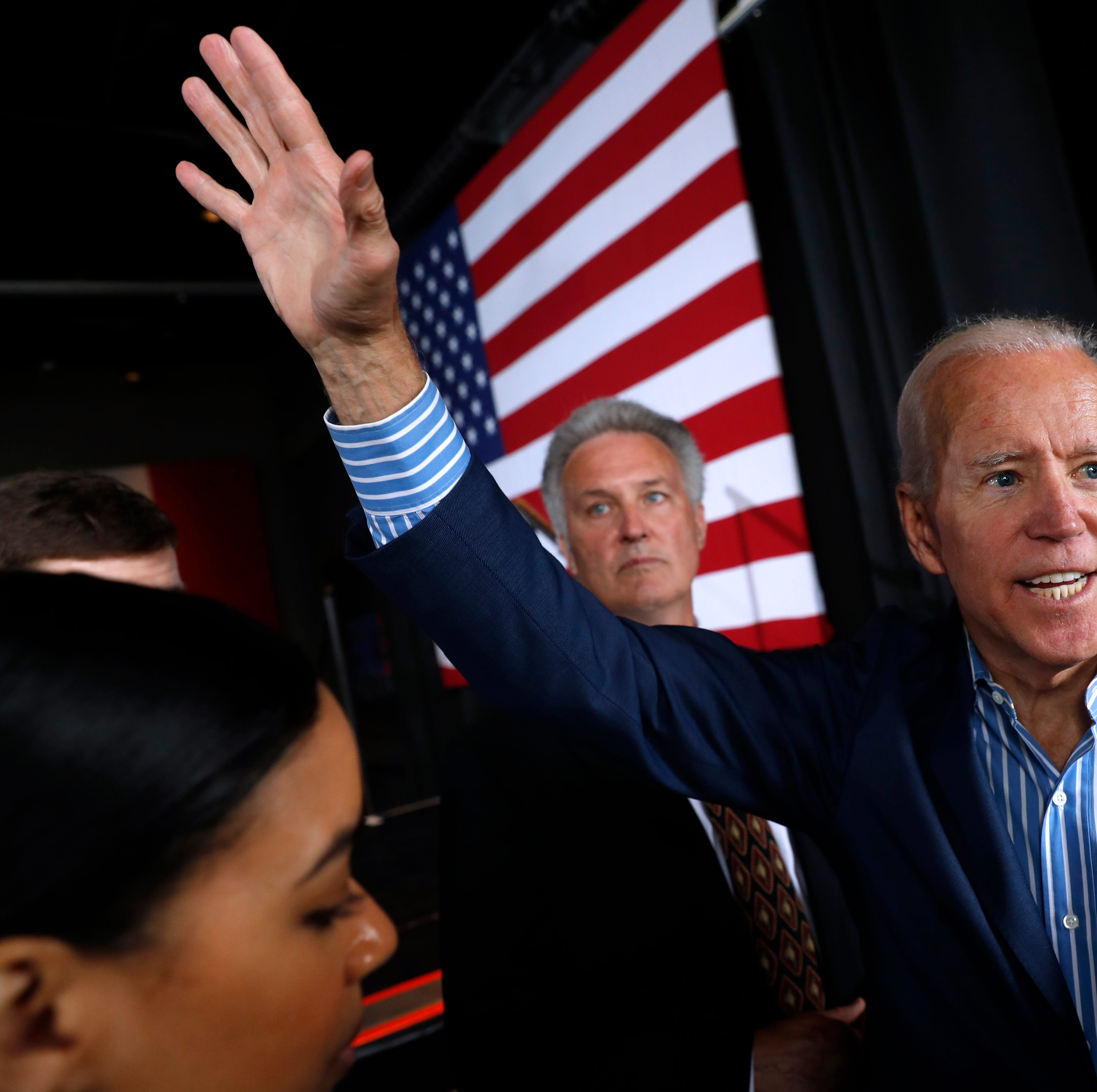 Biden's message of working class values resonates with Iowa City dems