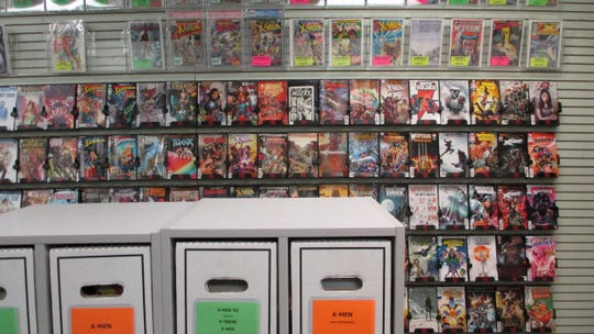 Daydreams Comics has a wide selection of comic books to choose from, both old and new.
