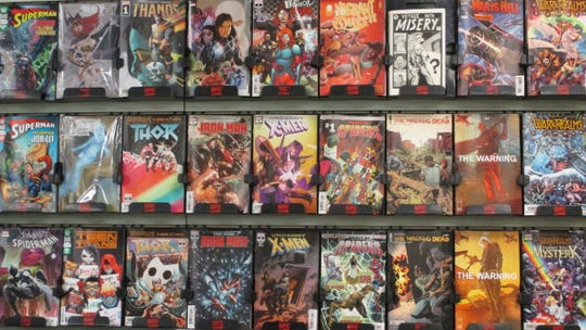 Outside of the issues available for Free Comic Book Day, Daydreams Comics has hundreds of other comics available.