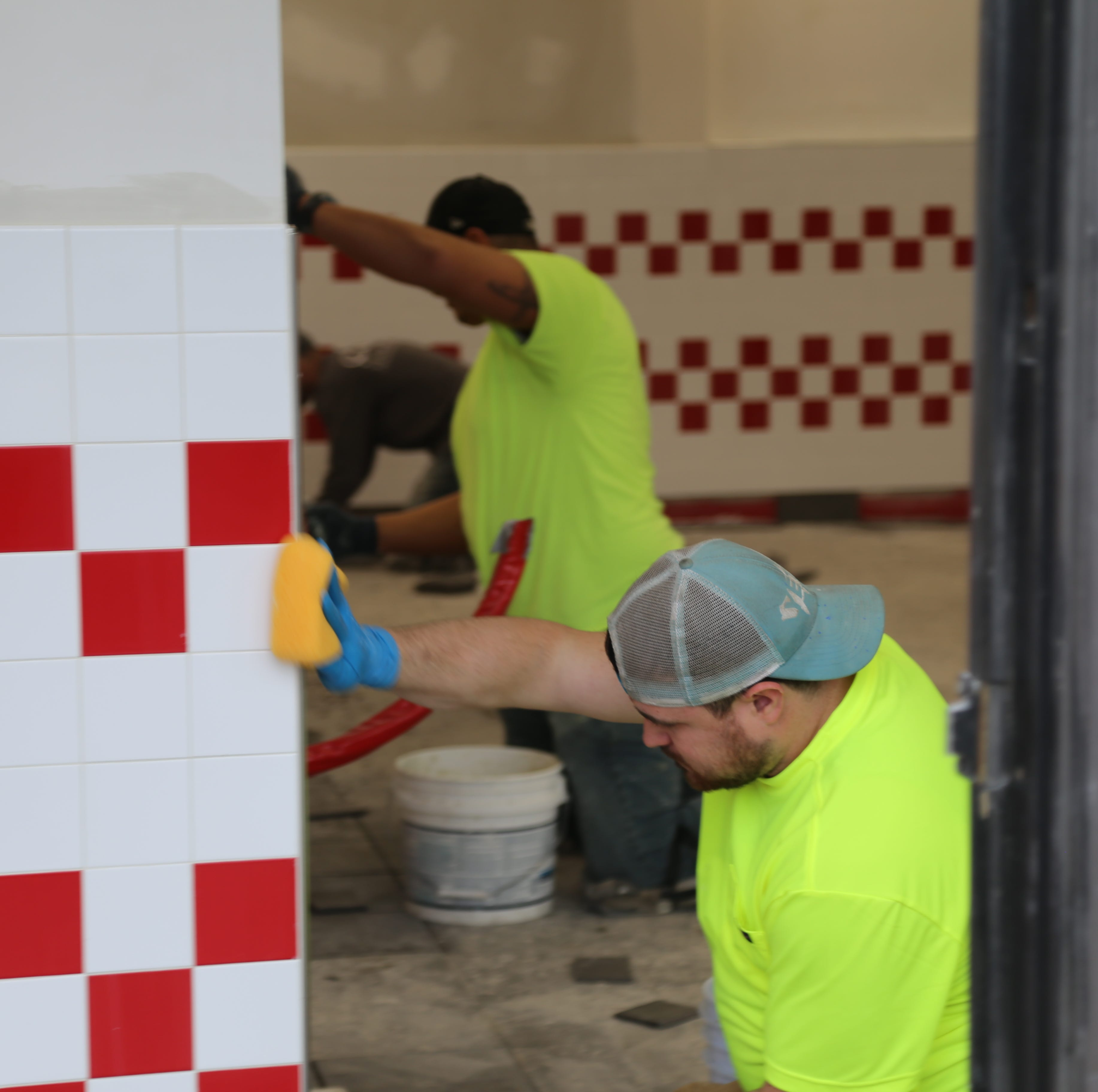 Five Guys Burgers & Fries in Ithaca being renovated
