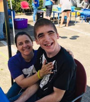 """As a parent you have to be real involved or you don't know what's going on and your child gets babysat,"" says Terri Doumit of Columbus, pictured with her son, Andrew."