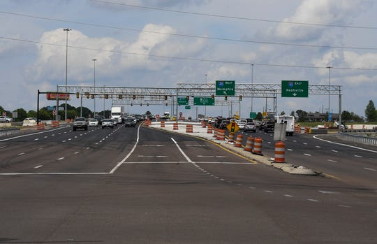 Construction continues on U.S. Highway 45 Bypass with all lanes now open.