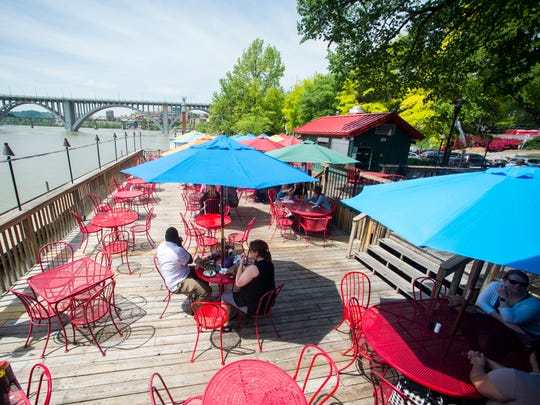 Calhoun's on the River is located at 400 Neyland Drive in Knoxville.