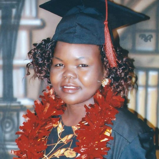 Betty Asha of South Sudan was the first person from her village, Pukuka, to graduate high school. Now she will continue her education at Maryville College.