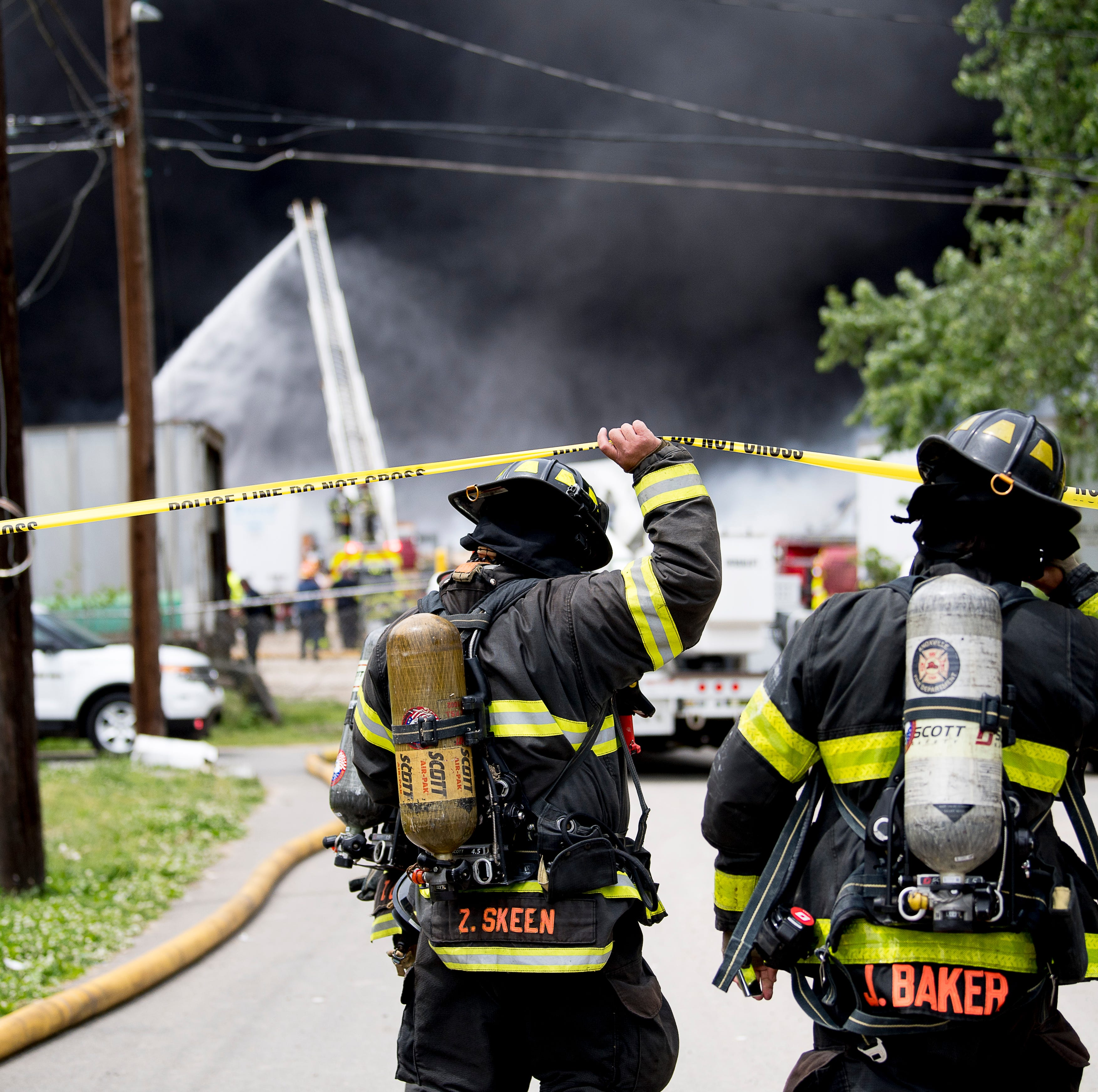 Burned waste facility owed $376K in local taxes before fire this week