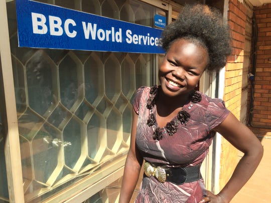 Betty Asha, 25, of South Sudan, rescued more than 2,000 refugees about three years ago. Now she will begin her studies on an international scholarship at Maryville College in East Tennessee.