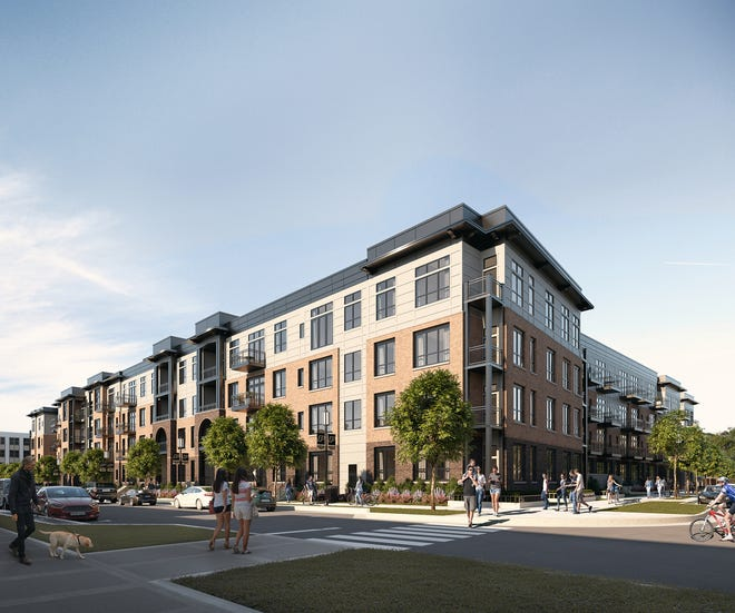 Browning Investments LLC and J.C. Hart Co. Inc. announced Wednesday, May 1, 2019, a joint venture to develop about 250 luxury apartments and 15,000 square feet of street-level commercial space in Discovery Park District, a 400-acre $1 billion-plus development on the west side of the Purdue University campus.