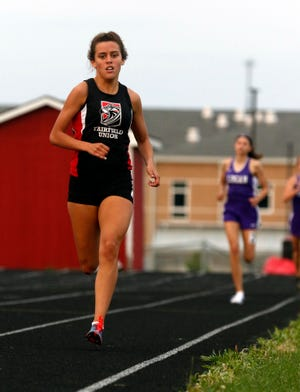 Fairfield Union senior Mackenzie Davis qualified for the state track and field championships in three events. The state meet gets underway Friday at Ohio State's Jesse Owens Memorial Stadium.