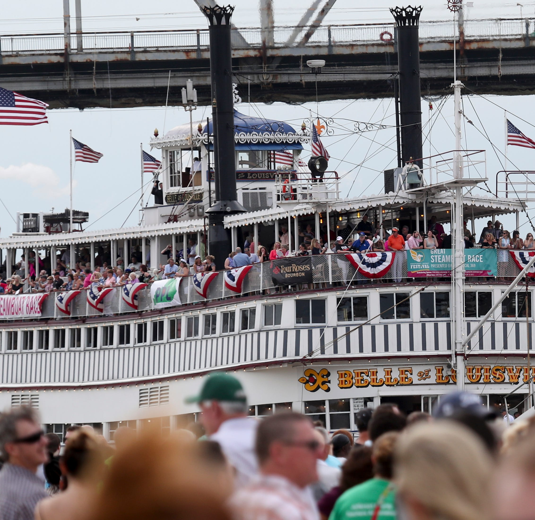 A call for rain couldn't dampen the spirit of The Great Steamboat Race