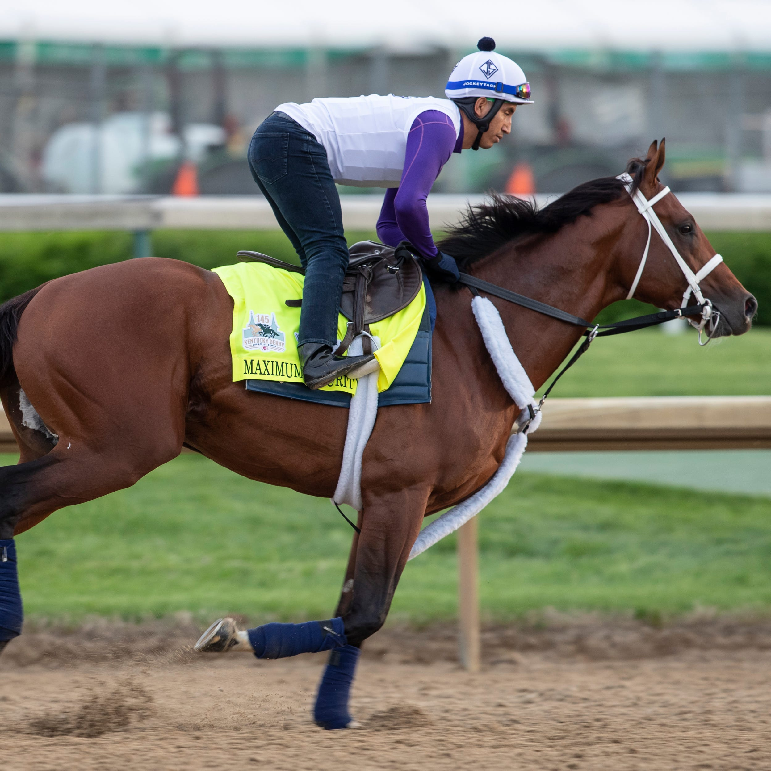 The Kentucky Derby race may lose a second contender — Haikal's status is in question