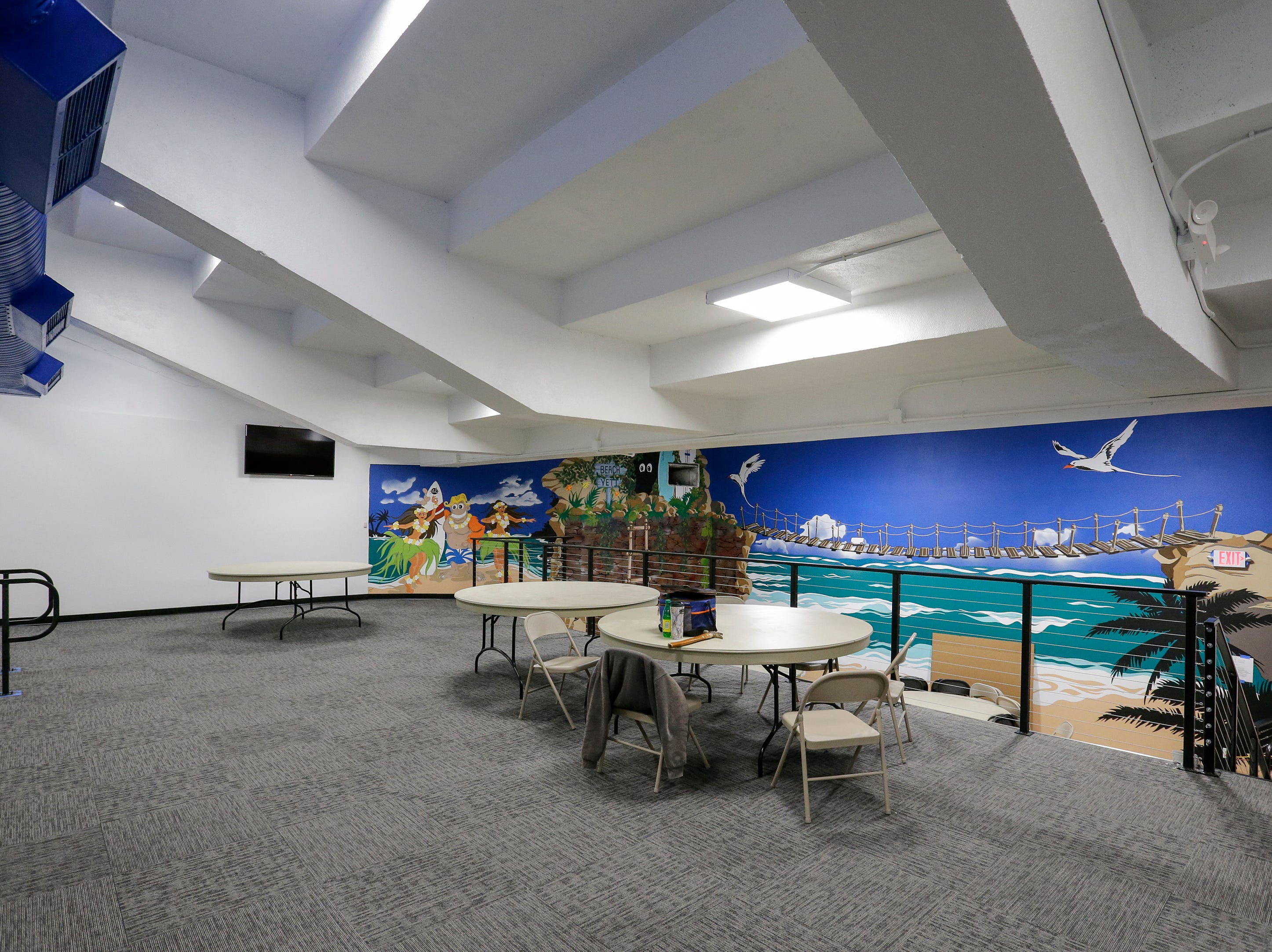 A party room at Strand Adventures Wednesday, May 1, 2019, in Manitowoc, Wis. Joshua Clark/USA TODAY NETWORK-Wisconsin