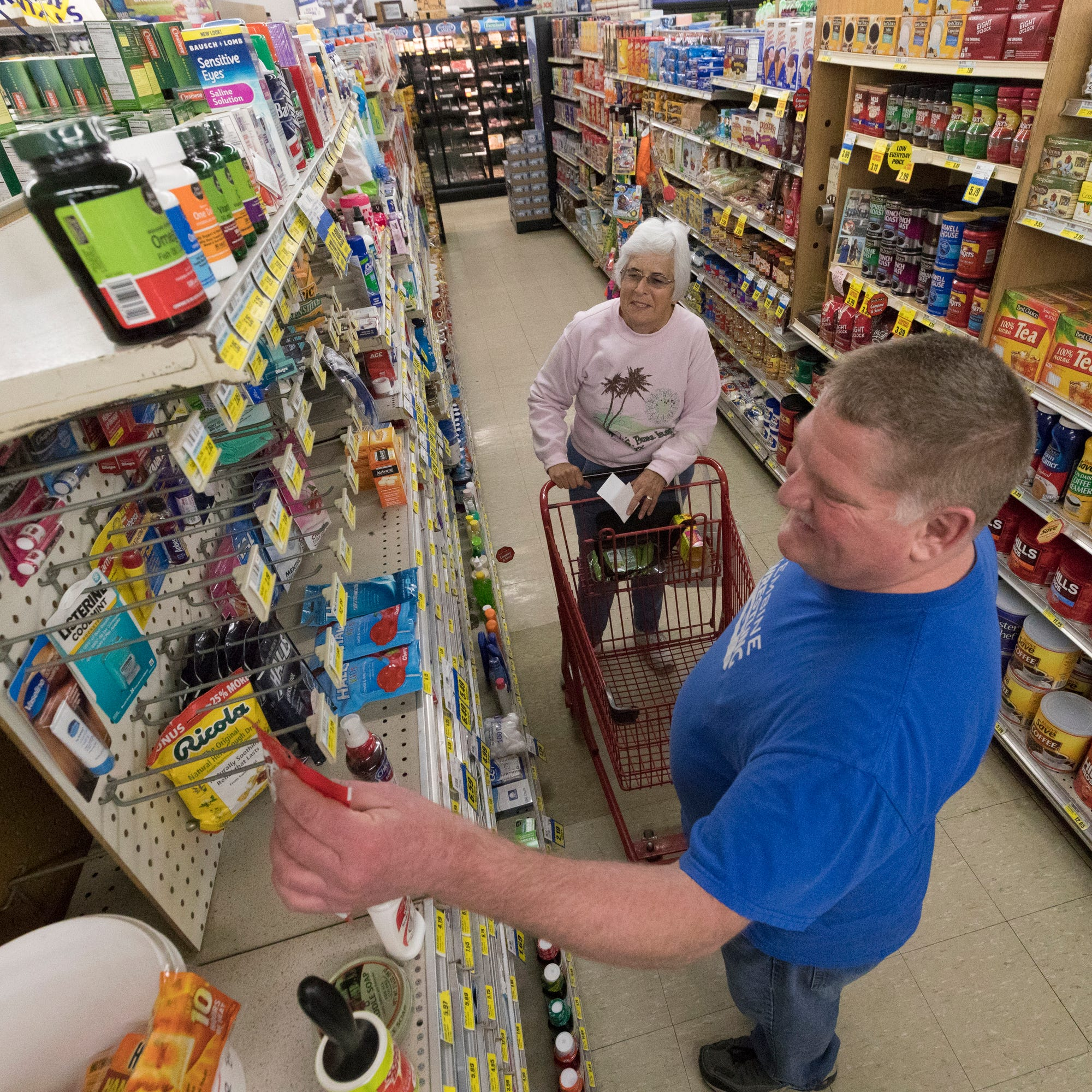 Dollar General's aggressive expansion into small Wisconsin towns has hurt locally owned grocery stores