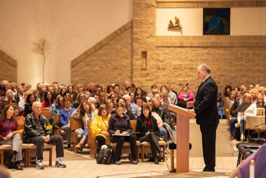 Former Wisconsin Attorney General Brad Schimel was among a number of speakers at a sex trafficking awareness event hosted in Pewaukee this spring.