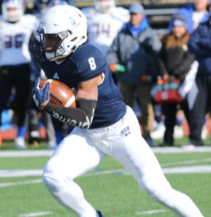 Washburn senior wide receiver James Brania-Hopp of Montville has been invited to the Tennessee Titans' rookie mini-camp.