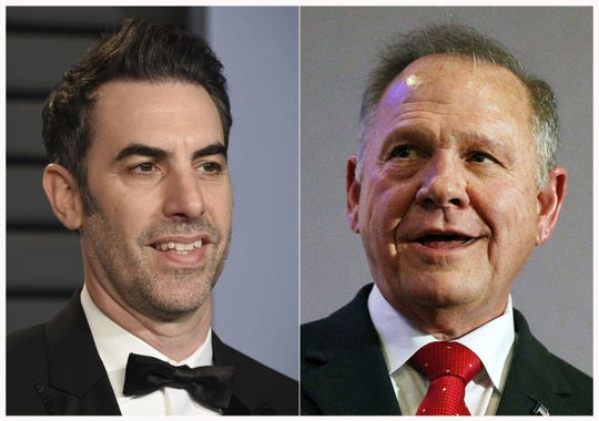A lawsuit that former Alabama Chief Justice and then-U.S. Senate candidate Roy Moore filed against actor-comedian Sacha Baron Cohen was ordered  transferred from Washington, D.C. to New York.