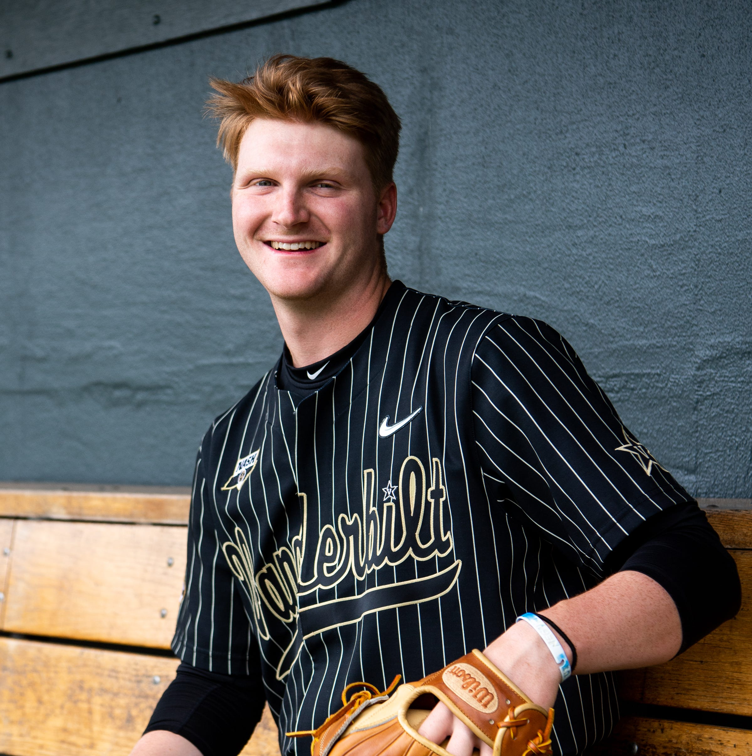 How nation's wins leader Drake Fellows broke a batter's nose to get to Vanderbilt baseball