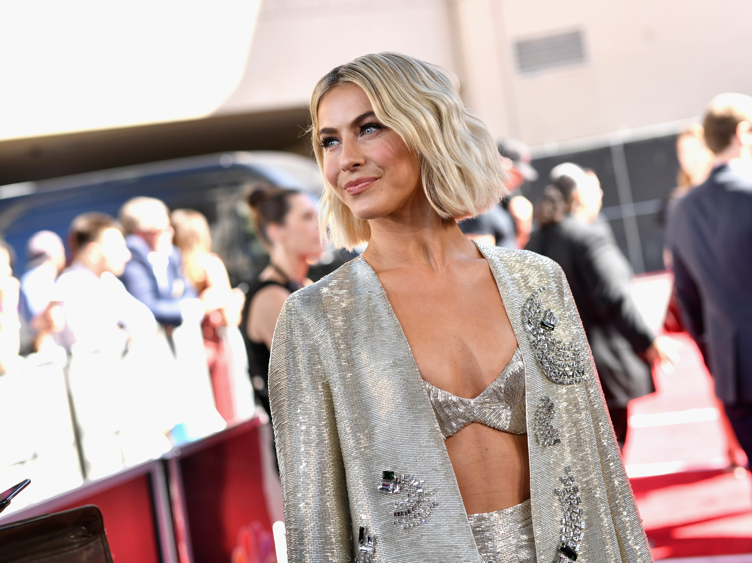Julianne Hough attends the 2019 Billboard Music Awards at MGM Grand Garden Arena on May 1, 2019 in Las Vegas, Nevada.