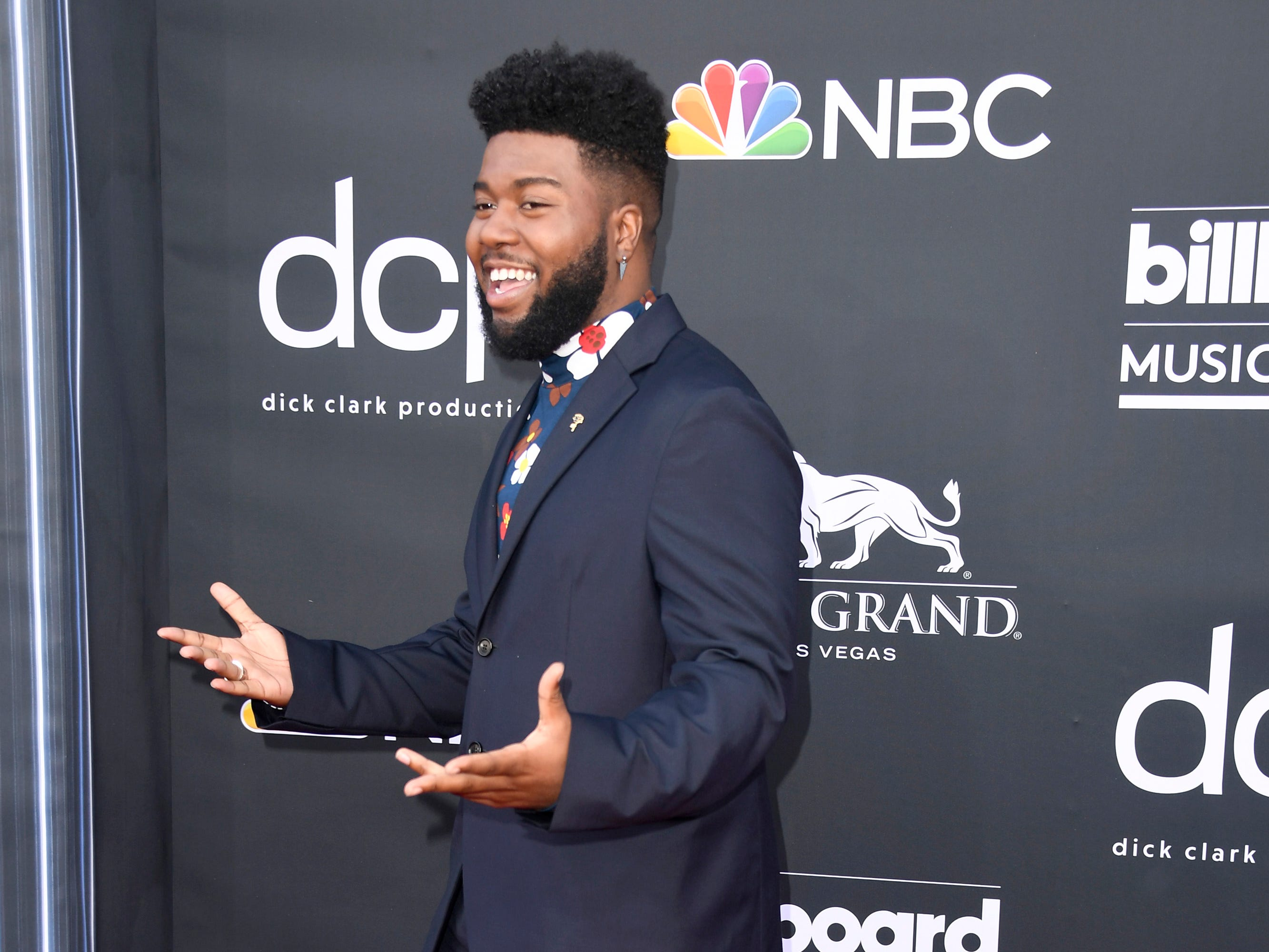 Khalid attends the 2019 Billboard Music Awards at MGM Grand Garden Arena on May 01, 2019 in Las Vegas, Nevada.