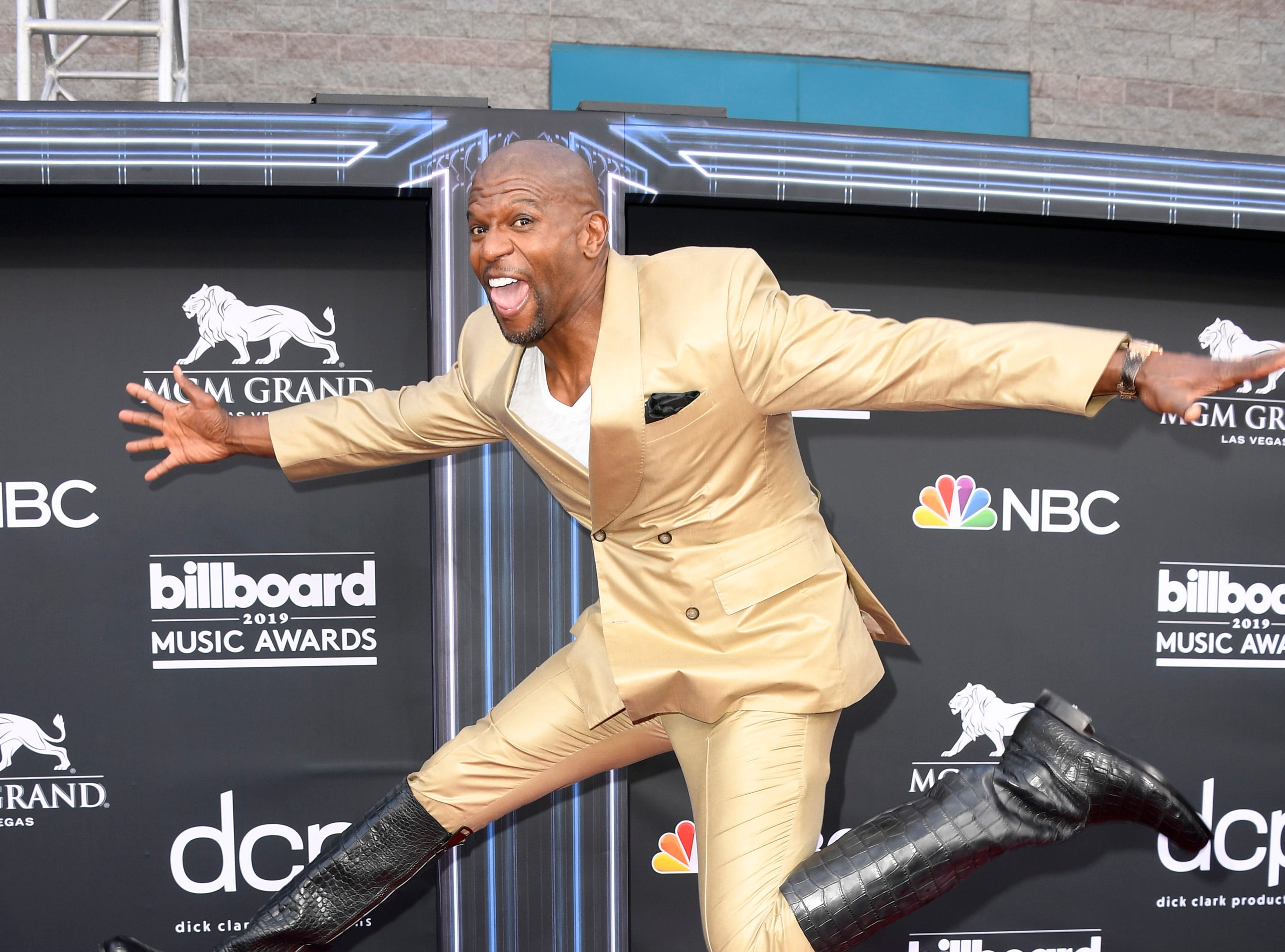 Terry Crews attends the 2019 Billboard Music Awards at MGM Grand Garden Arena on May 01, 2019 in Las Vegas, Nevada.