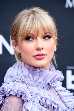 Taylor Swift attends the 2019 Billboard Music Awards at MGM Grand Garden Arena on May 01, 2019 in Las Vegas, Nevada.