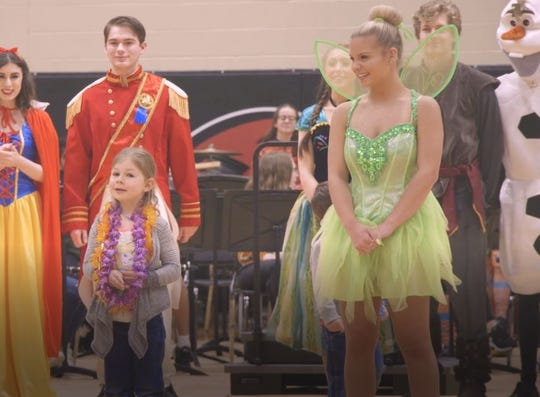 Ravenwood High students created elaborate Disney surprise for young Make-A-Wish recipient.