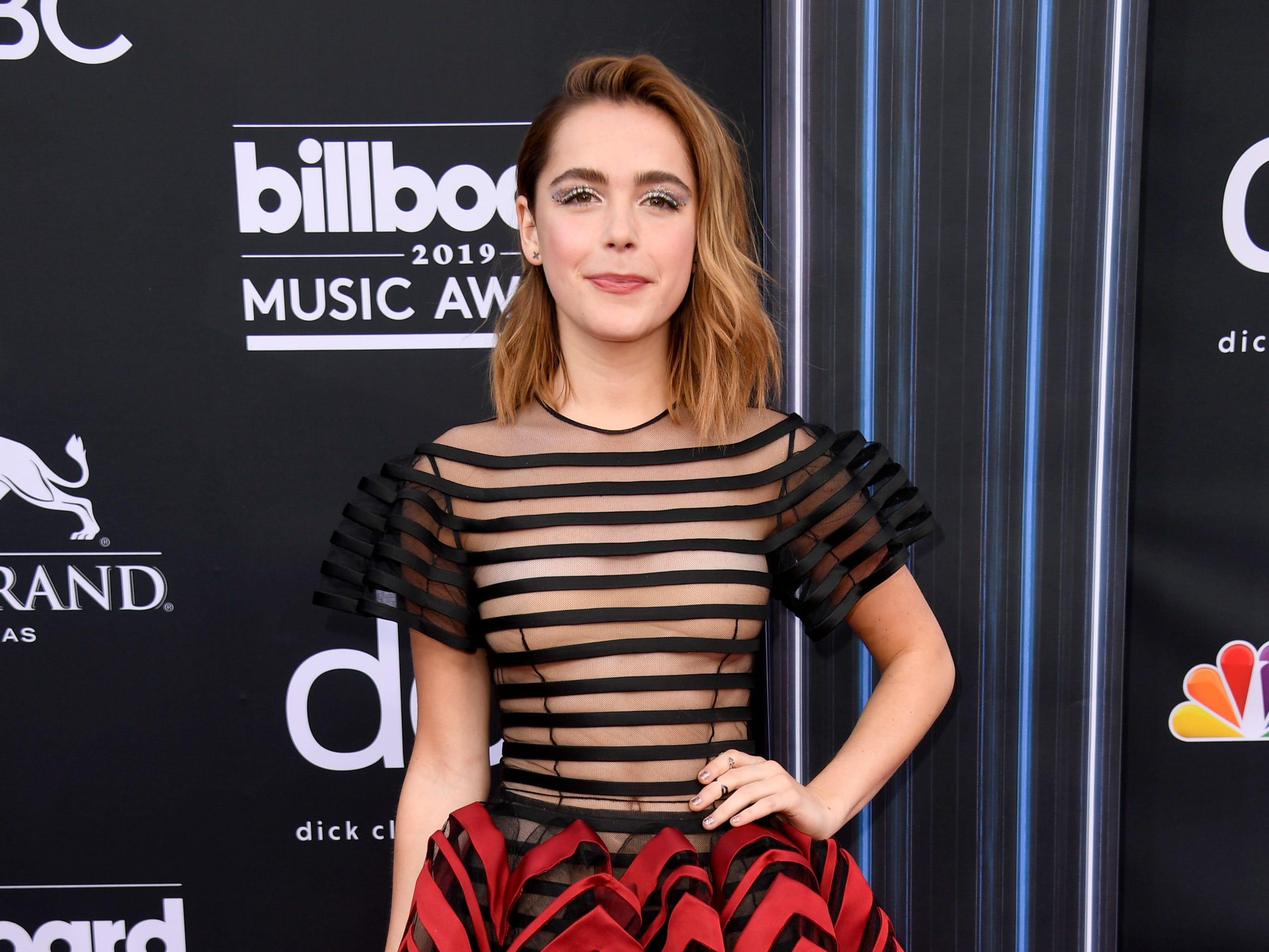 Kiernan Shipka attends the 2019 Billboard Music Awards at MGM Grand Garden Arena on May 01, 2019 in Las Vegas, Nevada.