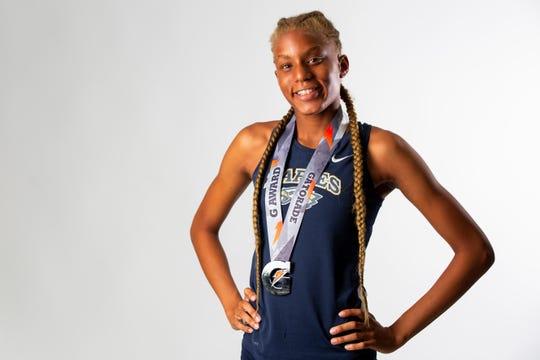Molie Jean Baptiste, Naples High School, Track, Freshman