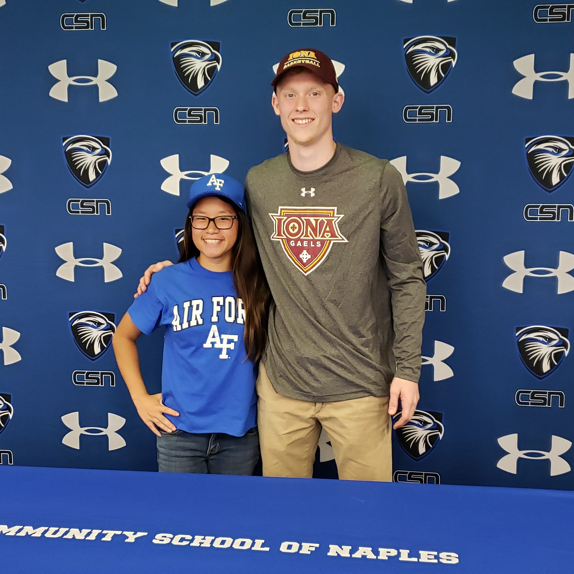 Signing Day: CSN's Parker Weiss to play basketball at Iona, Carr headed to Air Force